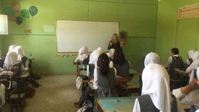 صورة جلسة توعية حول الإبتزاز الإلكتروني – مدرسة رفيدة الأسلمية