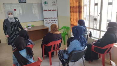 Photo of Baghdad Women Association provides six psychosocial support sessions (advocacy sessions)