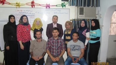Photo of training workshop on Monitoring and evaluating