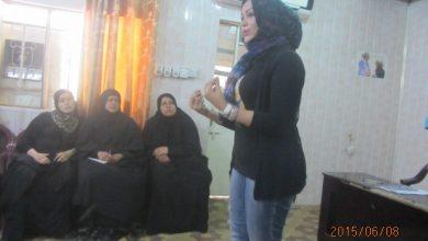 صورة كادر مركز النصر يعقد جلستين للتوعية الصحية