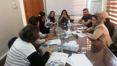 صورة اجتماع تشاوري لتحالف تنفيذ القرار 1325