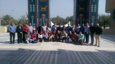 صورة كادر مشروع المدافعة لإصلاح السياسات لمناهضة الزواج خارج المحكمة يشارك في دورة إعداد التقارير ببغداد