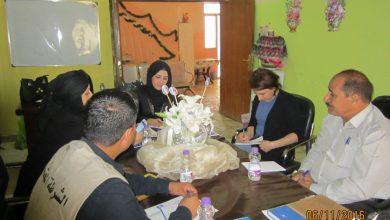 صورة ضمن مشروع الحماية والمساعدة للنازحين والعائدين وسط جنوب العراق