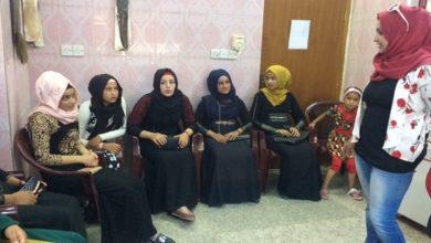 صورة ورش التمكين الأقتصادي في مقر جمعية نساء بغداد