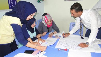 Photo of workshop trainers (TOT)