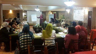 صورة ورشة تدريبية حول المنهج التدريبي القضائي