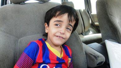 صورة زيارة مجمع حي الصابرين الكائن في البلديات لاخذ الطفل عمار الذي يعاني من مرض الضمور