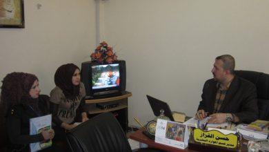 صورة زيارة الى وزارة الشباب والرياضة