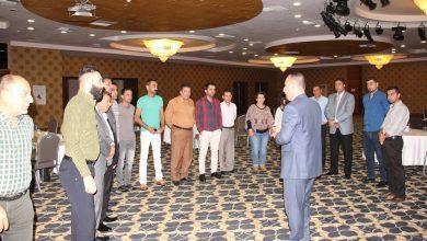 صورة كادر جمعية نساء بغداد يشارك في إجتماعات وزارة العمل بخصوص قانون التقاعد و الضمان الإجتماعي