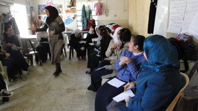 Photo of And women's empowerment workshop which discussed the negotiating skill