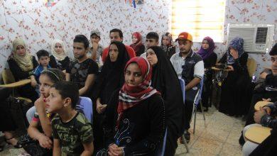 صورة كادر مشروع تمهيد الطريق للمصالحة بين النازحين يعقد جلسة الحوار السادسة في مركز الأمين