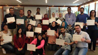 صورة كادر جمعية نساء بغداد يشارك في ورشة تدريبية حول المواطن الفاعل في عمان