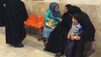صورة زيارة كادر مركز الصدر الى مستشفى الإمام علي في مدينة الصدر