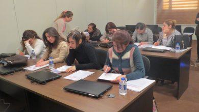 صورة إنطلاق برنامج تعليم الحاسوب – تساوي – في مقر جمعية نساء بغداد