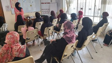 Photo of Baghdad Women Association continues to provide psychosocial support sessions for women and girls in Mosul