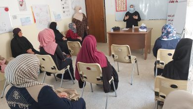Photo of Baghdad Women Association continues to provide awareness-raising sessions for women and girls in Mosul