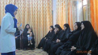 صورة مركز الإستماع و الارشاد في حي النصر ينظم ورشة توعية صحية