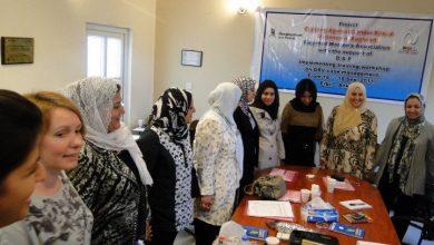 """صورة ورشة تدريبية تحت عنوان """" تعزير قابليات مقدمي الخدمات للنساء المعنفات في مراكز الاستماع والارشاد القانوني…"""