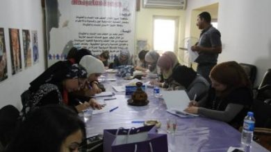 Photo of the fourth training of the project( Conflict Resolution Study Tour in Beirut)