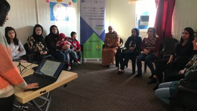 Photo of A training workshop on teenage girls guide