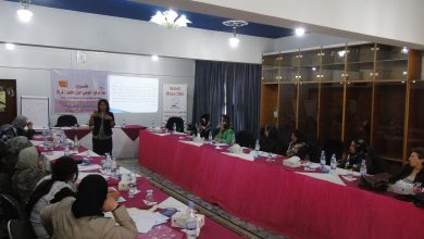 Photo of BWA implemented an educational workshop on July, 23, 2011 about women's quota
