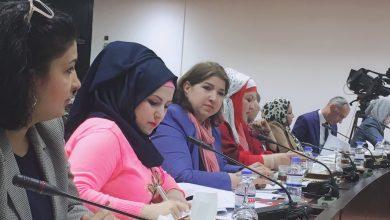 صورة مشاركة في جلسة نقاشية داخل مجلس النواب العراقي حول مشروع قانون مكافحة العنف الاسري