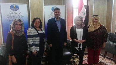 صورة اجتماع تشاوري مع مدير عام دائرة المنظمات غير الحكومية في الامانة العامة لمجلس الوزراء