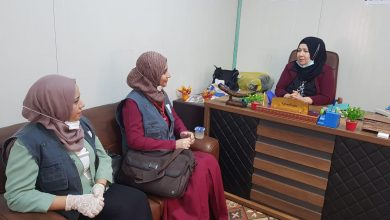 Photo of Baghdad Women Association makes a visit to Mosul Center for Nineveh Court