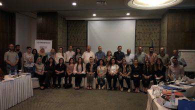 صورة حضور تدريب مع منظمة IOM حول دعوة منظمات المجتمع المدني في العراق بشأن جبر الضرر للناجيات من العنف الجنسي…