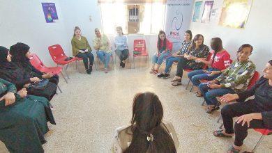 صورة الجلسة السابعة للمرأة العربية تتكلم
