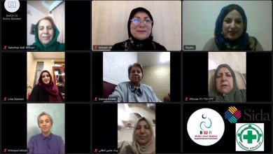 Photo of Webinar with Mrs. Ibtisam Aziz, Director General of the Women Empowerment Department in the General…