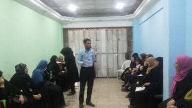 Photo of within the project (Engaging Youth to Combat Violence against Women and Promote Peace Building in Baghdad)